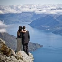 """Queenstown """"hosts well over 500 weddings a year, with most couples choosing to tie the knot in the sun"""""""