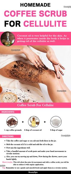 How to Use Coffee Scrub for Cellulite