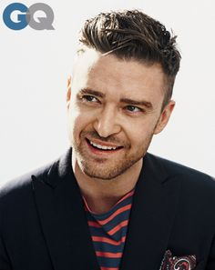 Justin Timberlake, men of the year GQ magazine december 2013