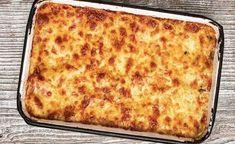 Pasta al forno (cheesy eggplant pasta bake) recipe - Cookbook Recipes, Kitchen Recipes, Wine Recipes, Baking Recipes, Oven Dishes, Pasta Dishes, Patatas Guisadas, Ground Beef Pasta, Eggplant Pasta
