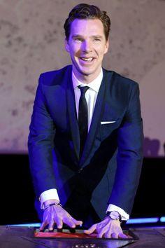 """Beautiful <3 {OFF Plus Camera. Benedict Cumberbatch, czyli serialowy """"Sherlock"""" spotkał się z fanami [ZDJĘCIA]}"""