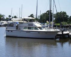 1985 Hatteras Motor Yacht Power Boat For Sale - www.yachtworld.com