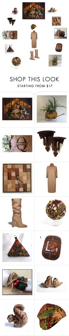 """Christmas ideas for the home"" by einder ❤ liked on Polyvore featuring interior, interiors, interior design, home, home decor, interior decorating, MaxMara and Gianvito Rossi"