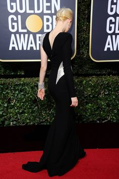 Loath as we are to admit it, this really was the most consistently chic and stylish Golden Globes red carpet of all time. If you give people a restriction,