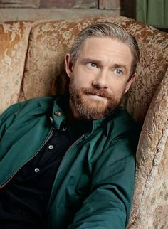 In which we discover that bearded Freeman is a ridiculously attractive variety of Freeman.