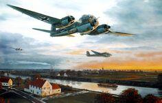 Junkers Ju 188 by Mark Postlethwaite