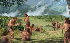 Research carried out by a team of Spanish paleontologists at a cave in Asturias adds to the growing consensus that Neanderthals and Homo sapiens interbred Paleolithic Period, Human Dna, Primitive Survival, Human Evolution, Ice Age, Prehistory, First Nations, Ancient History, Ecology