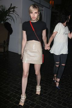 Hilary Duff and Emma Roberts – Leaving the Chateau Marmont in West Hollywood, 08/09/15