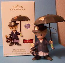 Hallmark Mary Poppins Ornament 2012 Precious Moments. Super $$$$