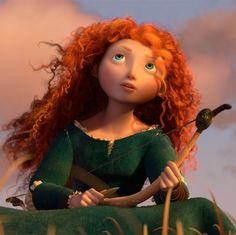 """Screencap Gallery for Brave Bluray, Pixar). Set in Scotland in a rugged and mythical time, """"Brave"""" features Merida, an aspiring archer and impetuous daughter of royalty. Merida makes a reckless Film Pixar, Pixar Movies, Disney Movies, Brave Movie Characters, Face Characters, Merida Disney, Brave Merida, Brave Disney, Brave Pixar"""