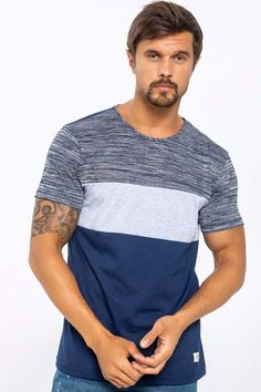 Camiseta Manga Corta Cuello Redondo Único Polo Tee Shirts, T Shirt, Ds, Men Fashion, Shirt Designs, Sport, Nice, Fitness, Casual