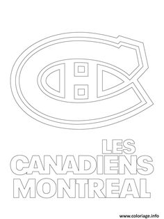 montreal canadiens habs logo nhl hockey coloring pages printable and coloring book to print for free. Find more coloring pages online for kids and adults of montreal canadiens habs logo nhl hockey coloring pages to print. Hockey Memes, Hockey Logos, Hockey Quotes, Nhl Logos, Hockey Players, Montreal Canadiens, Mtl Canadiens, San Jose Sharks, Vancouver Canucks
