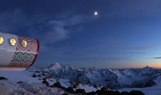 World's Highest Located Hotel on the southern side of Mount Elbrus