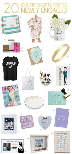 Holiday Gift Guide: Your Newly Engaged Girl Friend | SouthBound Bride