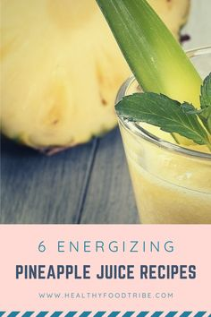 Three delicious pineapple juice recipes for an instant energy boost. Enjoy the health benefits of pineapple by juicing it with other fruits and greens! Energy Juice Recipes, Fresh Juice Recipes, Healthy Juice Recipes, Healthy Juices, Healthy Food, Vegetarian Recipes, Healthy Eating, Blackberry Smoothie, Juice Smoothie