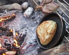 Bannock - Bannock is a backcountry staple that has kept full the bellies of adventurers and explorers for centuries.