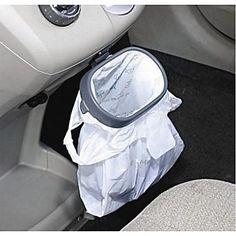 atacado multi-funcional portátil dobrar pendurado rack de lixo recebe veículo de lixo saco gancho pendurado cremalheira – BRL R$ 22,82
