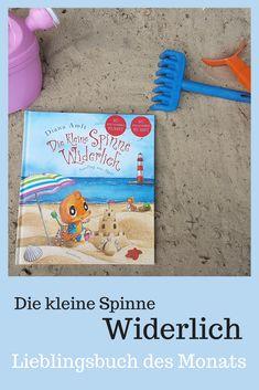 Lieblingsbuch, Lesen, Kinder, Kinderbuch, Die kleine Spinne Widerlich Urlaub