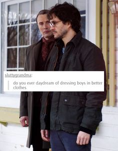 Hannibal Relating to Life: Dressing Boys in Better Clothes