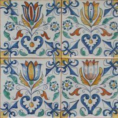 Tile murals, spanish tile, victorian tile, decorative tile, ceramic tile. Designs are lovely.