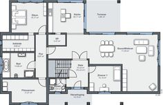 WeberHaus - Villa de luxe style Bauhaus
