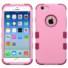 MYBAT TUFF Hybrid iPhone 6/6S Case - Soft Pink/Rose