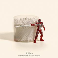 """. 9.27 sun """"Iron Man"""" by tanaka_tatsuya"""