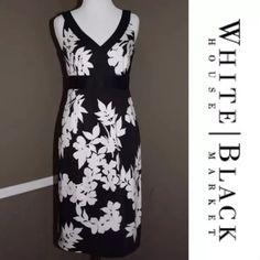 White House Black Market Empire Waist Dress Great dress for any season White House Black Market Dresses Midi