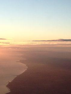 061214 BCN/ORY (VY8020) Nuages sur la côte de Barcelona...