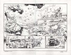 Chrononauts #4 p.17-18 by Sean Gordon Murphy