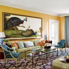 An Elegant New York Farmhouse by Gil Schafer Photos | Architectural Digest