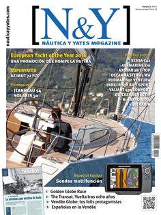 N&Y #Náutica y #Yates Magazine 24. European Yacht of the Year 2016, superyates, pruebas de vela y todo en #náutica.