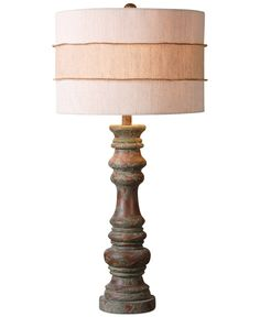 Uttermost Gerlind Wooden Table Lamp - Table Lamps - For The Home - Macy's