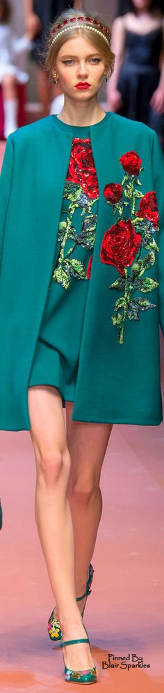 Fall 2015.         Ready-To-Wear.           Dolce & Gabbana.