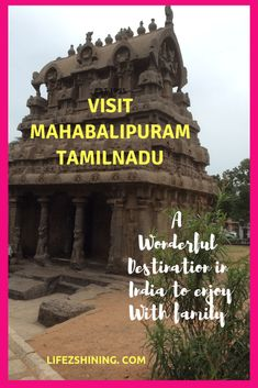 Mahabalipuram or Mamallapuram famous for historic architectural monuments rock carvings temples etc ideal place to enjoy with family Heritage site of UNESCO Monument Rocks, Travel News, India Travel, Heritage Site, Holiday Destinations, Continents, Places To Travel, Beautiful Places, Kerala