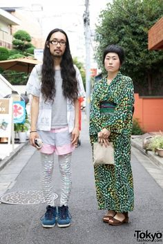 Tokyo Fashion. Traditional Mother and basement-dwelling-possibly-secretly-prodigious son?
