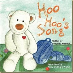 Hoo Hoo the Bear is an adorable series of 5 books that will delight children of all ages. Stop by Thoughts in Progress to find out about all 5 and the cuddly bear that inspires the series - http://masoncanyon.blogspot.com/2012/11/hoo-hoo-bear-series-by-amanda-kleback.html