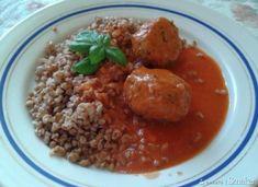 Menu Wędrowca Starego  i nie tylko.: Pulpeciki w sosie pomidorowym