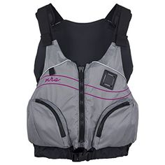 NRS Zoya Mesh Back PFD  Womens Grey XSM *** Check out this great product.Note:It is affiliate link to Amazon.