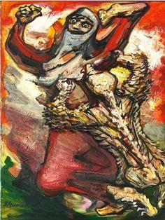 David Alfaro Siqueiros - El Nahuatl, c. 1965.