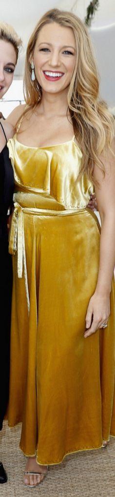 Blake Lively wearing Dress – Valentino  Shoes – Jimmy Choo