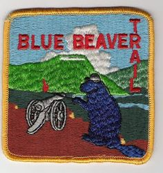 This Old Boy Scout Patch: Blue Beaver Trail - Lookout Mountain, TN