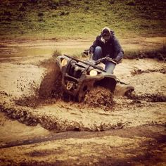 Always a good time when mud and 4wheelers mix