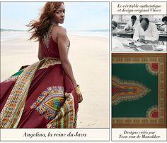 ANGELINA | LA REINE DE JAVA - Vlisco V-InspiredVlisco V-Inspired