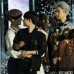 Taemin and kyungsoo 😍 ft. A jealous chanyeol 😂