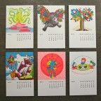 Studio On Fire letterpress calendars