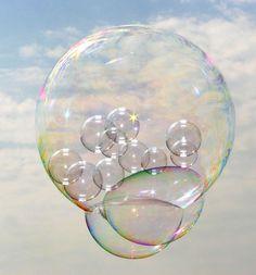 "~please don`t pop my ""bubble world""~"