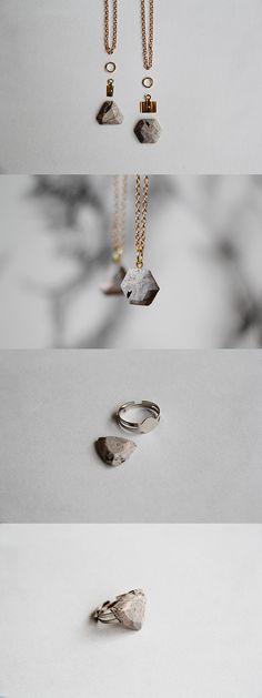 Marble Gem Stone DIY. Make these polymer clay marble effect gem stones by @Francesca Galafti Stone Tutorial on #FallForDIY