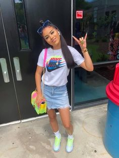 Best Baddie Outfits Part 14 Swag Outfits For Girls, Boujee Outfits, Cute Swag Outfits, Teenage Girl Outfits, Chill Outfits, Teen Fashion Outfits, Girly Outfits, Dope Outfits, Cute Summer Outfits