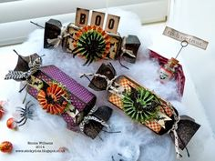 Love these creations by Emma for the Simon Says Stamp Monday challenge (Treats) October 2014